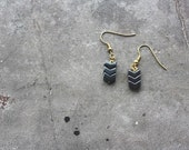 Hemalyke Chevron Earrings
