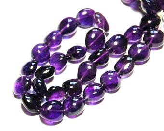 "SALE 13mm 15"" line A Grade AMETHYST beads"