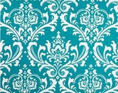 Premier Prints Ozborne True Turquoise - Home Decor Fabric