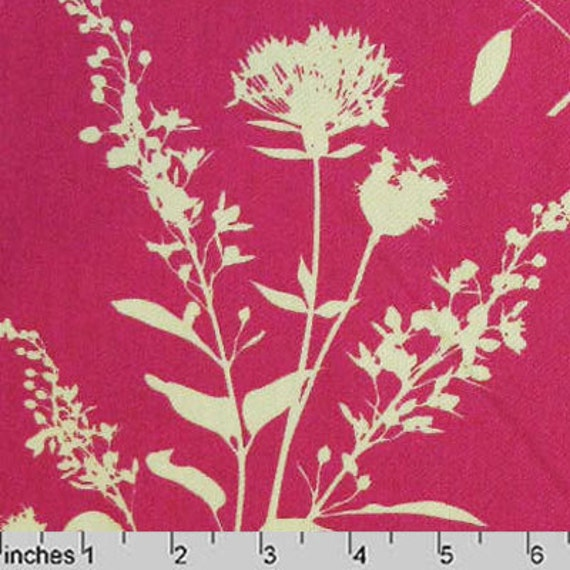 Joel Dewberry Gingseng Wildflowers Pink - Home Decor Fabric