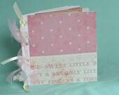 Sweet Baby Girl Mini Scrapbook