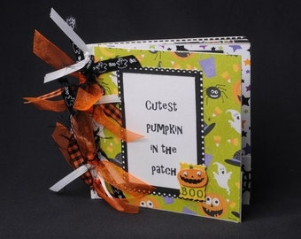 Cutest Pumpkin Halloween Mini Scrapbook