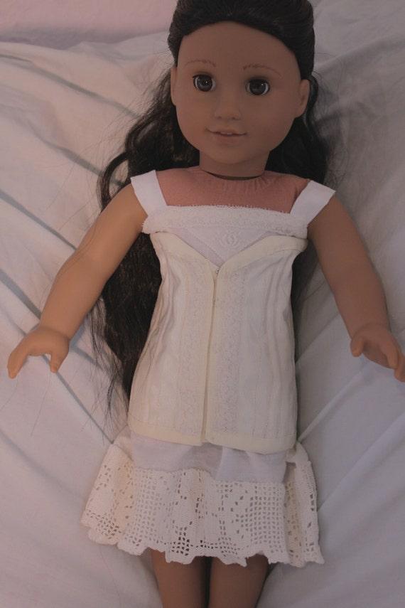 2 piece under garment set for18in american girl dolls (Josefina)