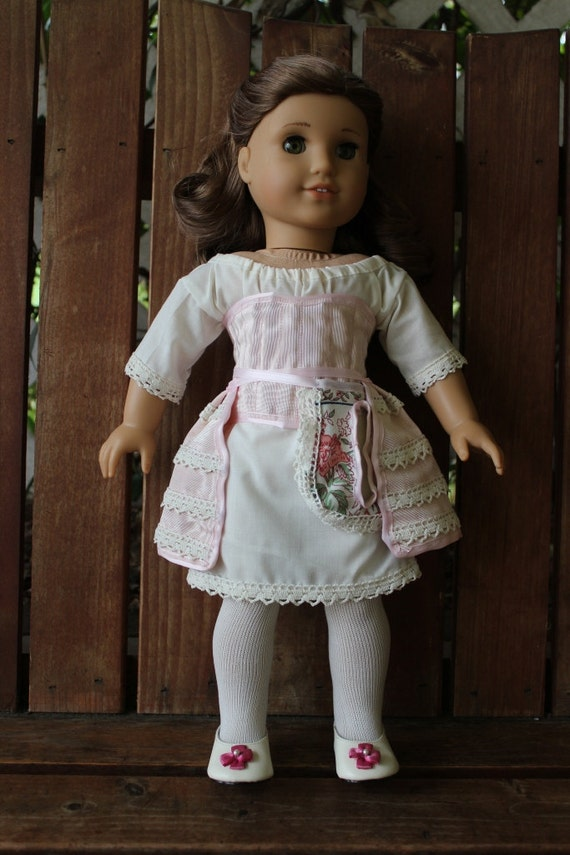 Colonial undergarments 4 piece set for 18in American girl dolls