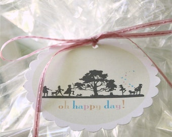 Happy Day gift tags