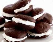 Gourmet Chocolate Cream Whoopie Pies