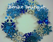 Snowflake Winter Wreath