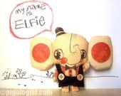 Limited Edition Doll, Elfie the elephant