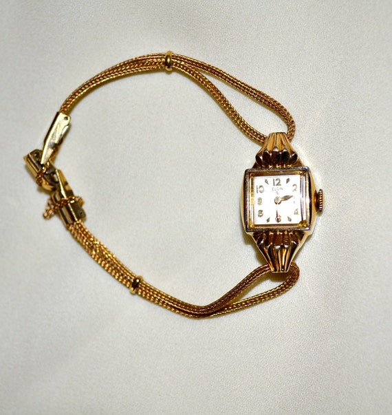 Vintage ELGIN Watch, 10k or 12 k GOLD