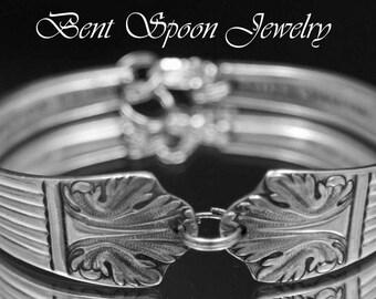 Spoon Jewelry, Silver Spoon Bracelet, Silverware Jewelry, Wedding, Bridal Bracelet, Bridesmaids Bracelet - 1935 Lady Esther