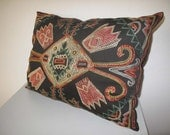 """Antique design Pillow Cover Nomad Kirgiz pattern silk suzani Pillow Cover 19.5""""x26.3"""" inch"""