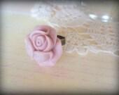 Lovely Lavender Rose Ring