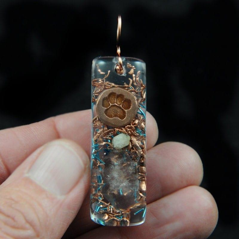 how to make orgonite pendants