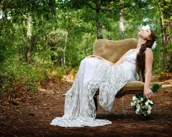 Custom Wedding Gown in Lace