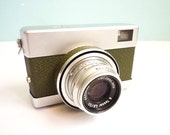Rare Vintage 35mm Film Camera Green Werra 1