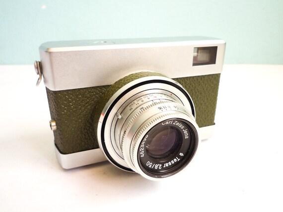 Rare Vintage 35mm Film Camera Green Werra 1