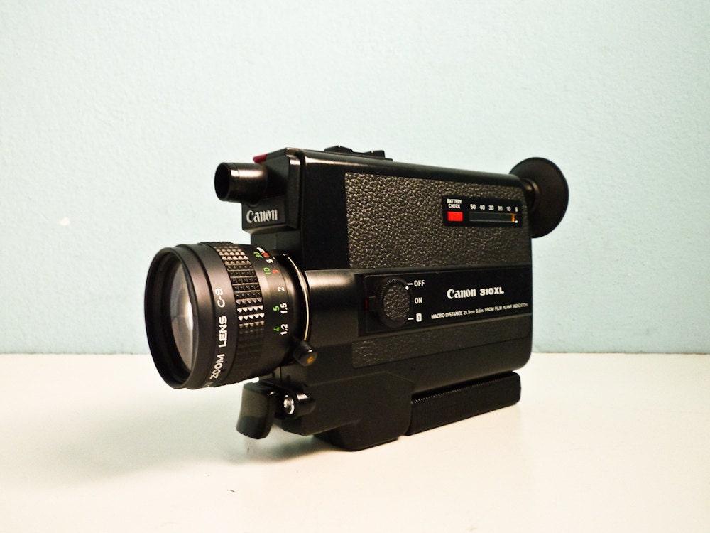 vintage film camera canon 310 xl super 8 movie fastest lens. Black Bedroom Furniture Sets. Home Design Ideas