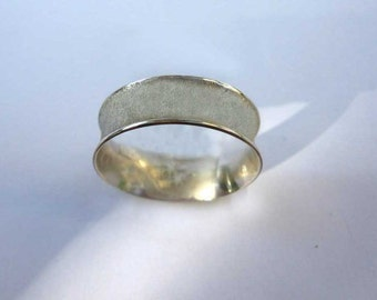 Sterling Silver Upside-Down Ring