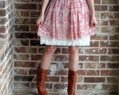 SALE SALE Dress Extender Slip Tiered Ruffle Available in cream, black, purple, fuschia, bright pink, white, navy, brown, and turquoise.