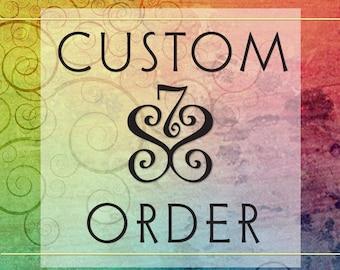 Custom Design Order Handmade Jewelry