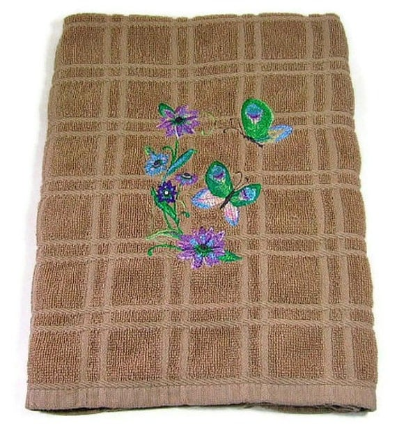 Hand towel, butterflies