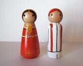 Traditional Indian Wedding Attire  - Wedding Cake Toppers