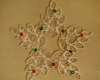 Quilled Snowstar Ornament