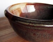 Brown Swirl Bowl