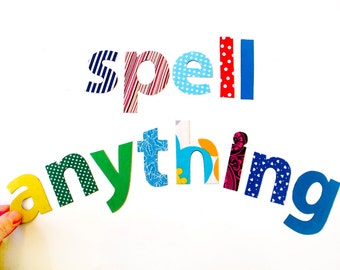 letter & number magnets - spell anything
