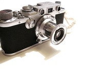Leica III / Leica Elmar 50mm 3.5 / Rare Condition.  Sales are final if item is not defective.