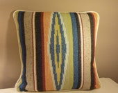 Special Listing For Emma)........Gorgeous, Navajo, Ethnic Patterned Wool Cushion Cover