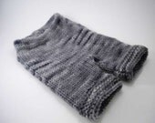 ON SALE - Charcoal Gray Wool Shorties, 0-3 Months