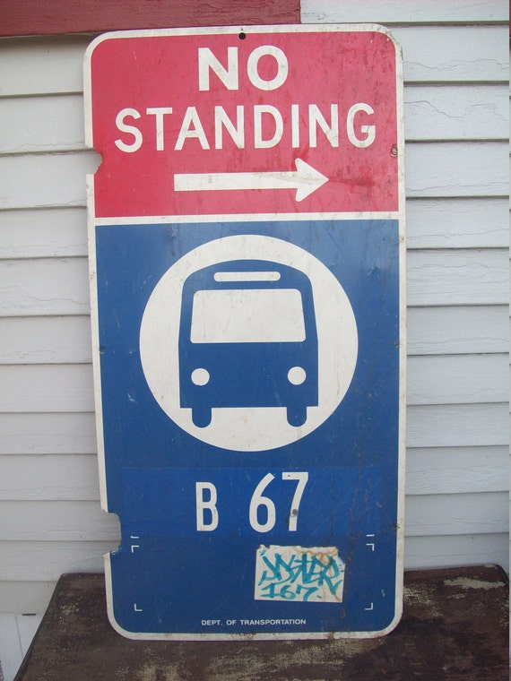 Industrial No Standing Sign