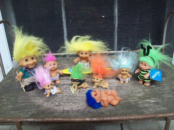 Instant Collection Of Troll Dolls
