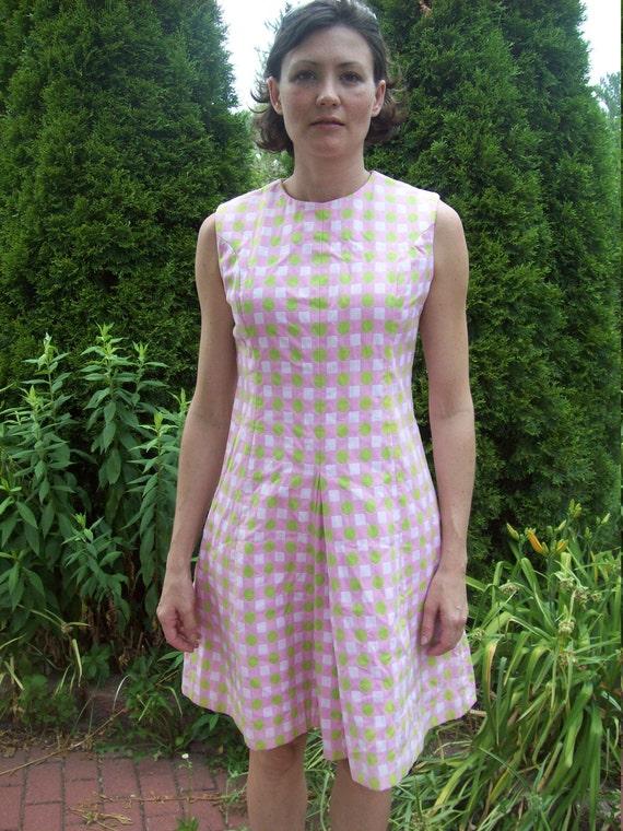 Joan Leslie By Kasper Mod Scooter Dress