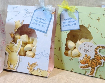Winnie the Pooh Baby Boy Party Favors In an easy to assemble do it yourself kit