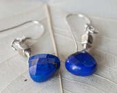 Lapis Lazuli Earrings, Drop