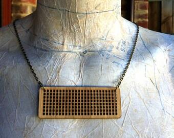 Cross Stitch Jewellery Blank - oblong