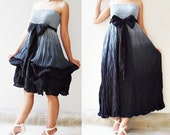 Black Balloon Sweet Cotton Dress