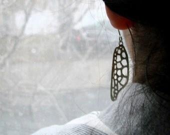 sterling silver dangle earrings turtle fins