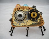 Pretty Allergy - A Robot Assemblage Antique Super Bug
