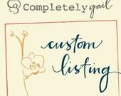 Custom Bunting Banner for maresav123