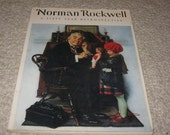 Norman Rockwell A Sixty Year Retrospective, 1972, a soft back book