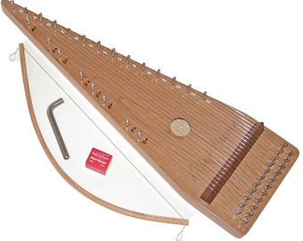 Zither Heaven 22 String Cherry Bowed Psaltery P22SP-C