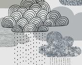 Looks Like Rain, limited edition giclee print