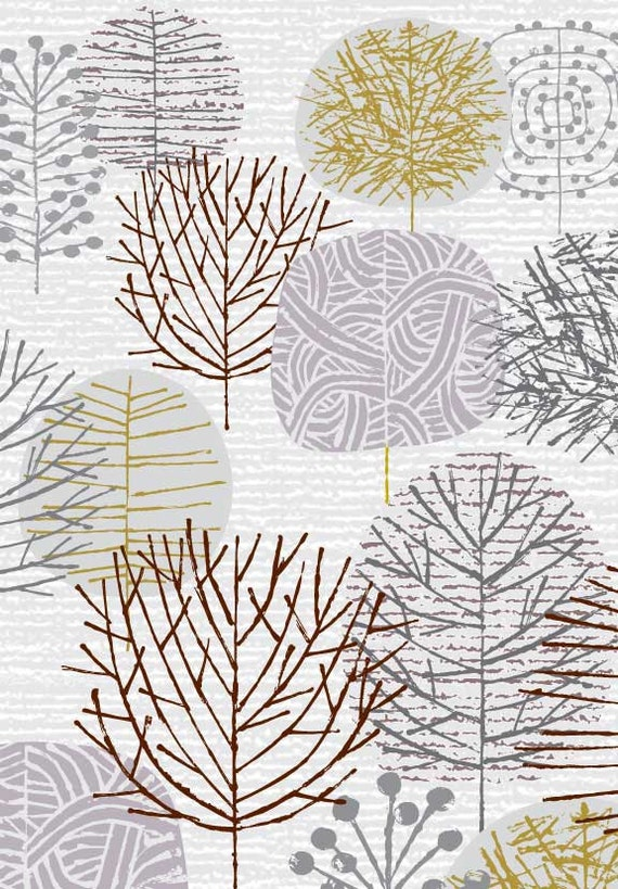I Love Winter Trees, limited edition giclee print