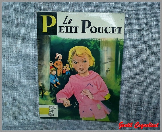 Vintage French child book Charles Perrault fairy tale