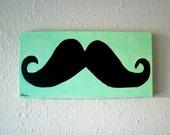 "Original Painting -""Mustache"""