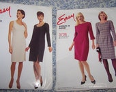 Fall Sale - 2 Easy Patterns, Stitch 'n Save, McCalls, Sewing Patterns, Dresses, UNCUT, Plus size 16-18-20-22 Complete - Classic Styles