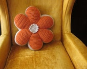 Custom Flower Pillow -- Made to Order